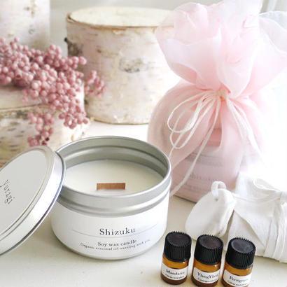 旅に連れていくオーガニック Shizuku 〜 Relax & Sweetの香りセット 〜