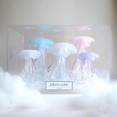 [数量限定]Jellyfish mobile 限定セット/くらげのモビール5種