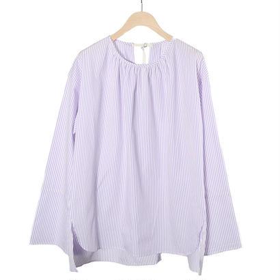 先行予約【CNLZ】Boat Neck Shirt/シーエヌエルゼット ボートネックシャツ