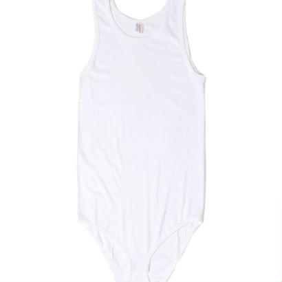 【babaco】suvin cotton tank-top body/ババコ コットン タンクトップ ボディスーツ