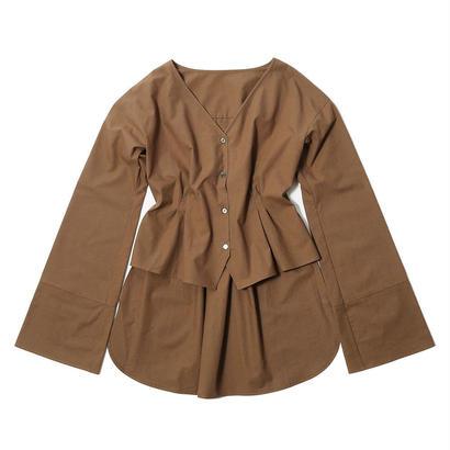 先行予約【CNLZ×SaraYoshida】V Shirt EMBI SARA ver.  / シーエヌエルゼット Vシャツ EMBI 吉田沙良デザイン