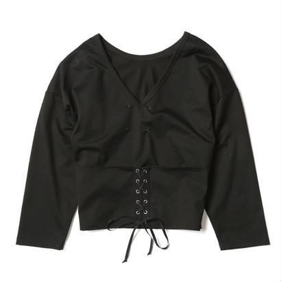 【CNLZ】Corset tee/ シーエヌエルゼット コルセット ティーシャツ