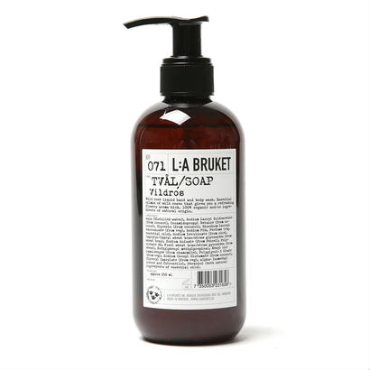 OUTLET【L:A BRUKET】SOAP /リラブルケット 071 エンリッチ・リキッドソープ(ワイルドローズ)