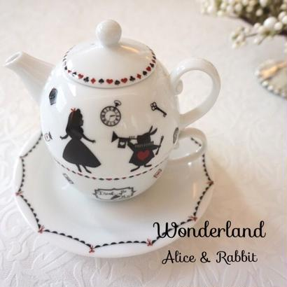 【kapilinamaid 転写紙】Wonderland〜Alice&Rabbit