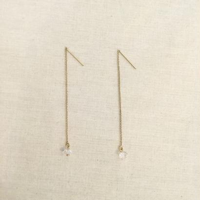 [Fision]耳飾り/水晶