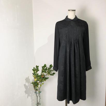 JUN OKAMOTO   丸襟フロントタックシャツドレス