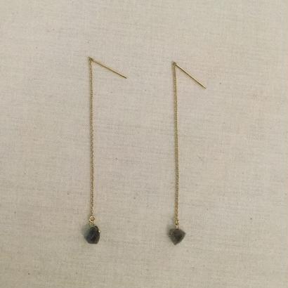 [Fision]耳飾り/ラブラドライト