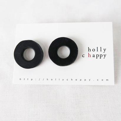 holly  chappy donuts ピアス