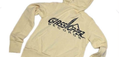 "Grasshopper RECORDS OFFICIAL Hoodies ""BAGE body (black print)"""