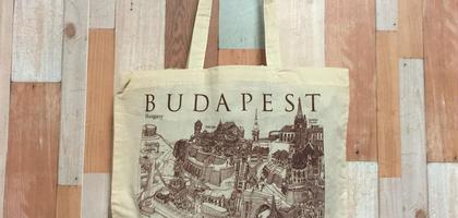 ハンガリー★ブダペスト★エコバッグ