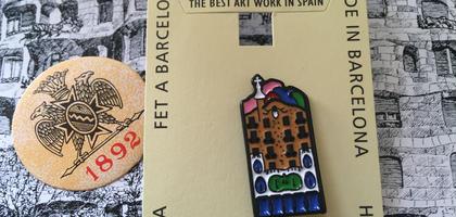 スペイン★バルセロナ★カサパトリョ★ピンバッジ