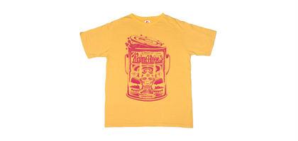 PAINT ROOTS T-SHIRTS -Mustard yellow-