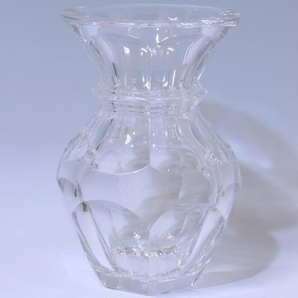 クリスタル花瓶(バカラ)/ a2826