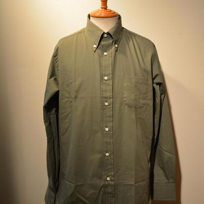 インディビジュアライズドシャツ オリーヴHBT BDシャツ