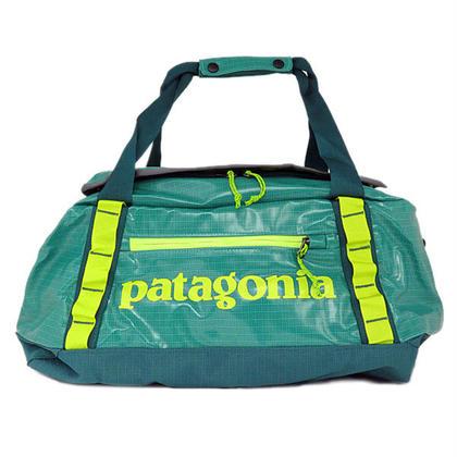 パタゴニア ブラックホールダッフル 45L ボストンバッグ 49336AQUASTONE グリーン 新品