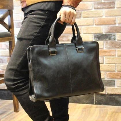 メンズ 2WAYビジネスショルダーハンドバッグ 全2色 新品