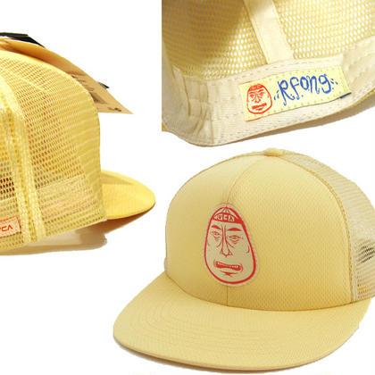 RVCA BARRY McGEE MESH CAP