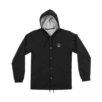 SPITFIRE CIRLCE BIGHEAD PATCH HOODED COACH JACKET