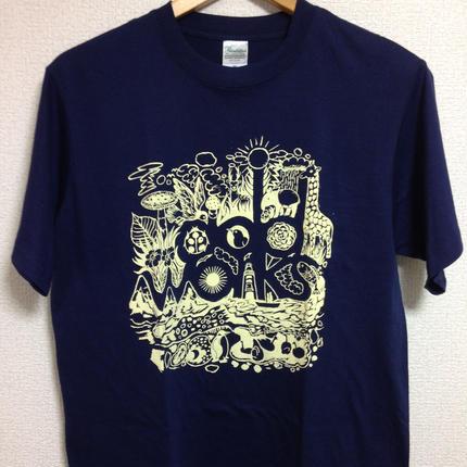 LOGO T-shirts(Navy)