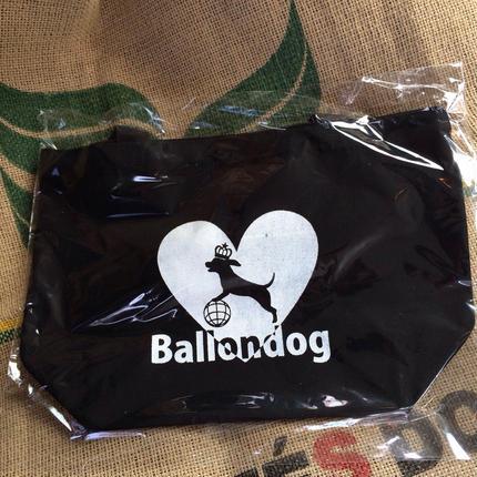 Ballondog ロゴ入り  トートバッグ(Black)