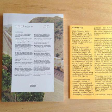 FILLIP issue no.18 Spring 2013