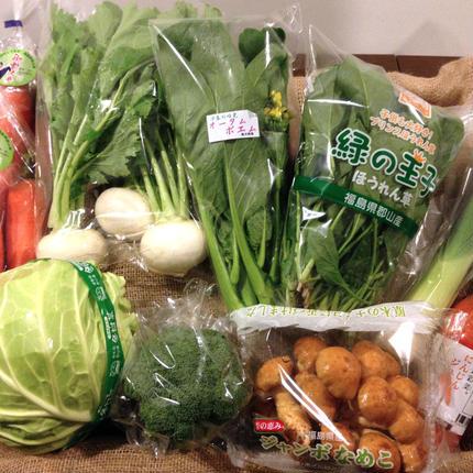 郡山ブランド野菜 旬の野菜セット 6.7月お届け