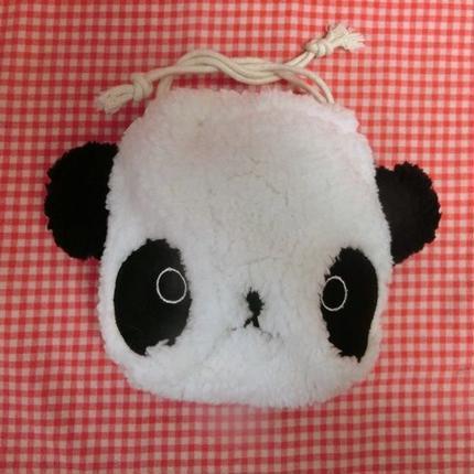 焼き菓子2袋入りパンダちゃん巾着袋
