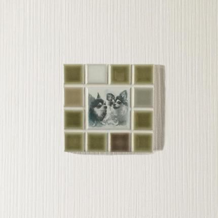 マットカラー/ボタニカル(S)◆Tile Picture Frame(S)/Botanical Tone◆