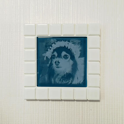 マットカラー/ホワイト(M)◆Tile Picture Frame(M)/WHITE◆
