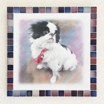 フォギーカラー/レッドブルー(XL)◆Tile Picture Frame(XL)/Foggy Tone/RED-BLUE◆