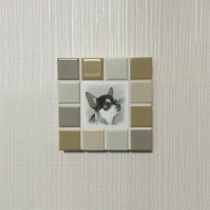 マットカラー/オークル(S)◆Tile Picture Frame(S)/Matte Tone/OCHER◆
