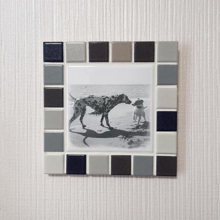 マットカラー/グレー(M)◆Tile Picture Frame(M)/Matte Tone/GRAY◆
