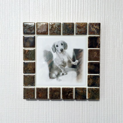 アンティークカラー/ラスティーシェナ(M)◆Tile Picture Frame(M)/Antique Tone/RUSTY SIENNA◆
