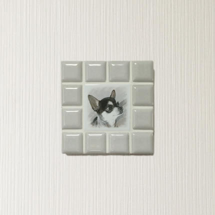 ブライトカラー/オフホワイト(S)◆Tile Picture Frame(S)/Bright Tone/OFF-WHITE◆