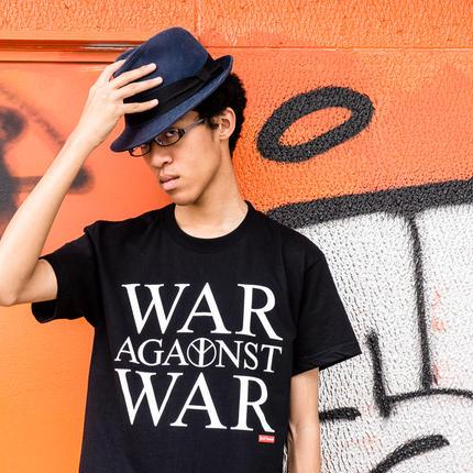 Tee: War Against War (black)