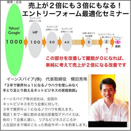 エントリーフォーム最適化(EFO)セミナー(2時間36分)