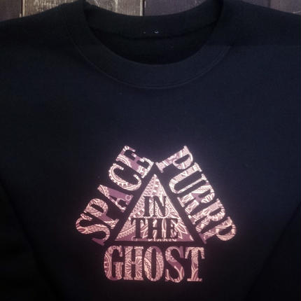 SPACE GHOST IN THE PURRP 【ロングスリーブTシャツ】  ペイズリー