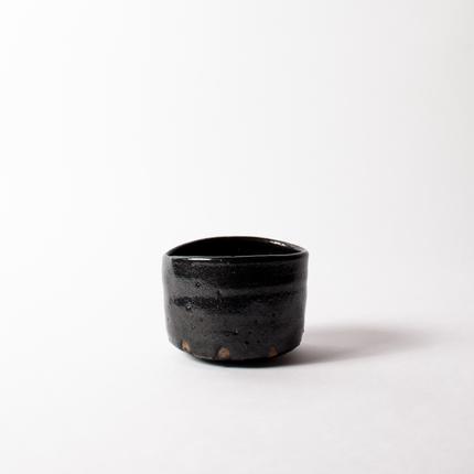 014 内田鋼一 猿楽手 引出黒茶碗