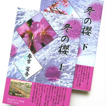 長編時代小説「冬の櫻」・上下セット