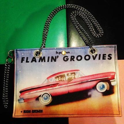FLAMIN' GROOVIES/CHAIN SHOULDER BAG