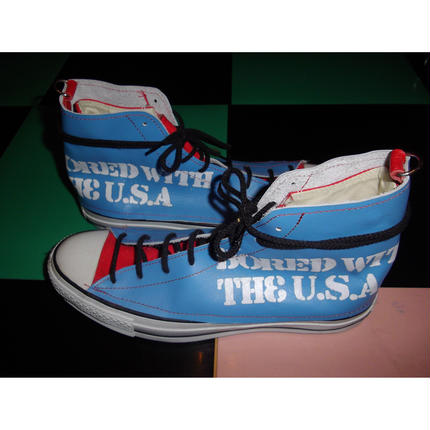 CONVERSE REMAKE LEATER SNEAKERS