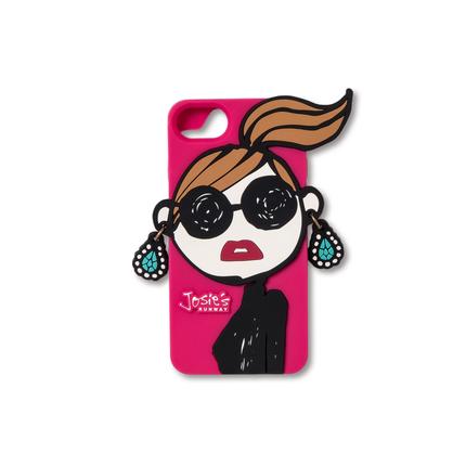 【iPhone7 Case】Face(JR003-PK)