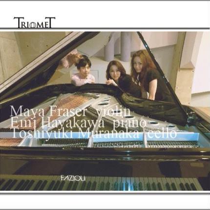 1stアルバム「 TriomeT」  ピアノトリオTriomeT