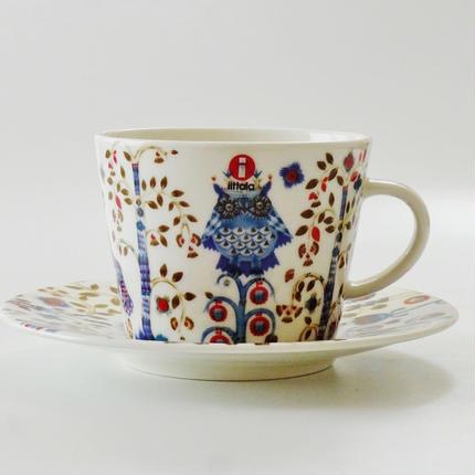 イッタラ タイカホワイト コーヒーカップ&ソーサー