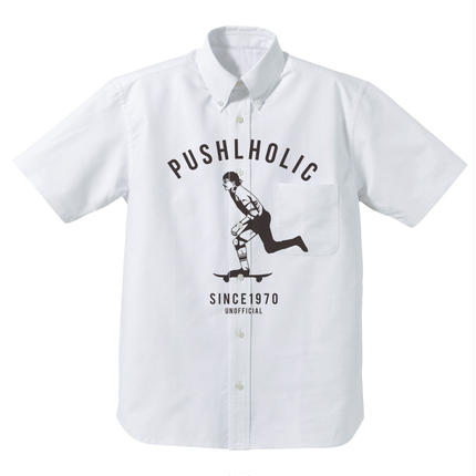PUSH HOLIC Oxford SS shirts / UNOFFICIAL