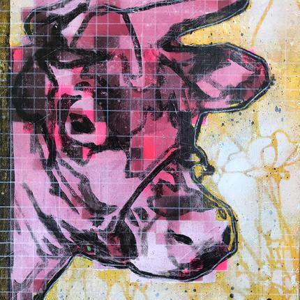 BITMAP COW (Pink)