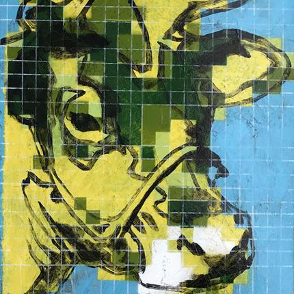BITMAP COW (Green)