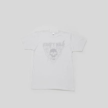 """ heavy mild "" white t-shirt by yusuke tanaka (caviar)"