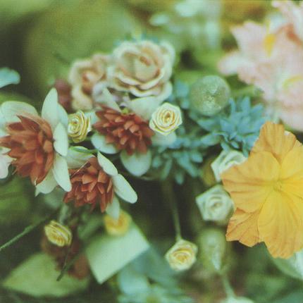 PHOTO TILE STICKER  the last flower