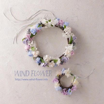 花かんむり&リストレット
